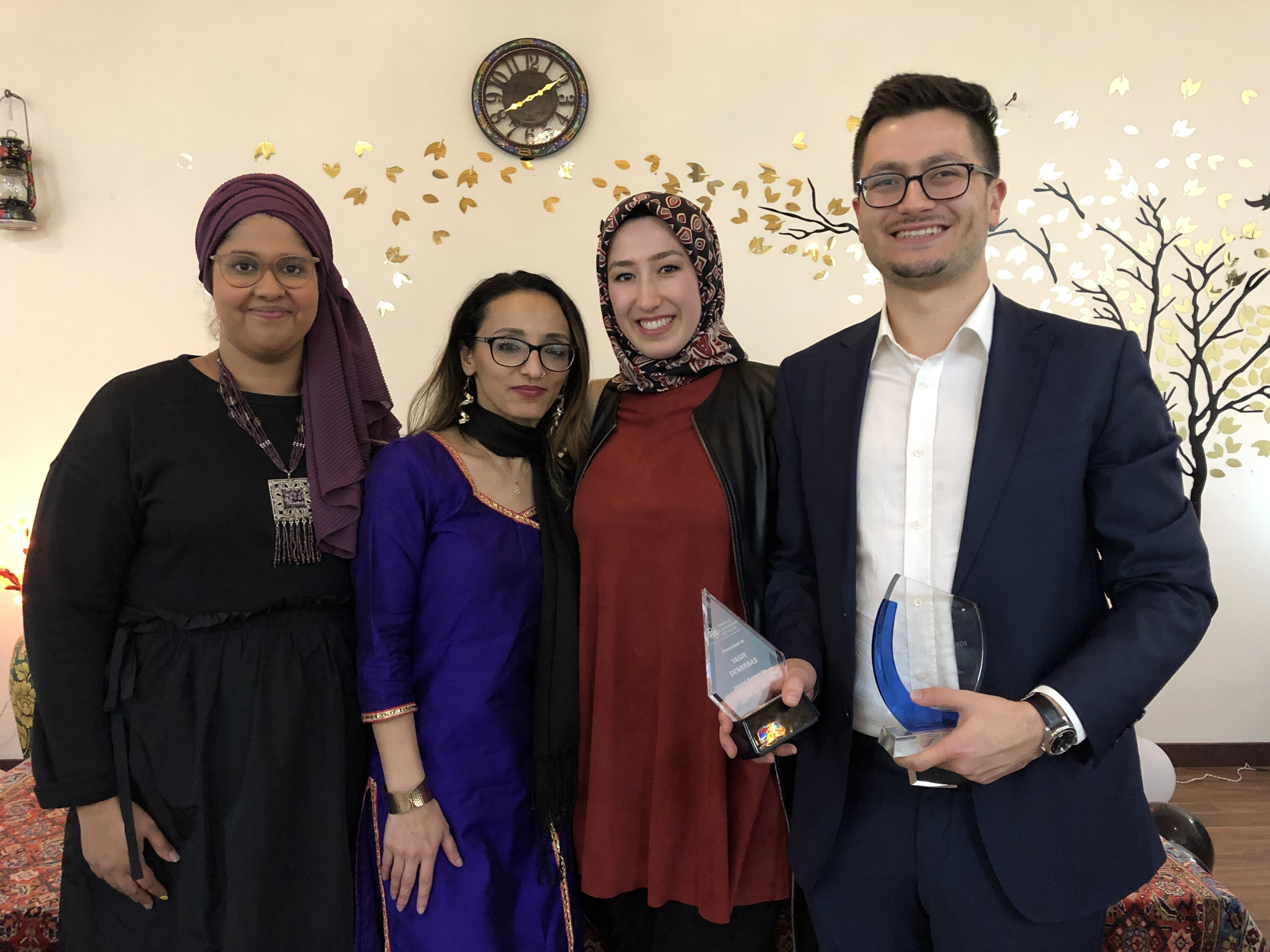 PIF presented with 2 awards at the NZ Muslim Awards