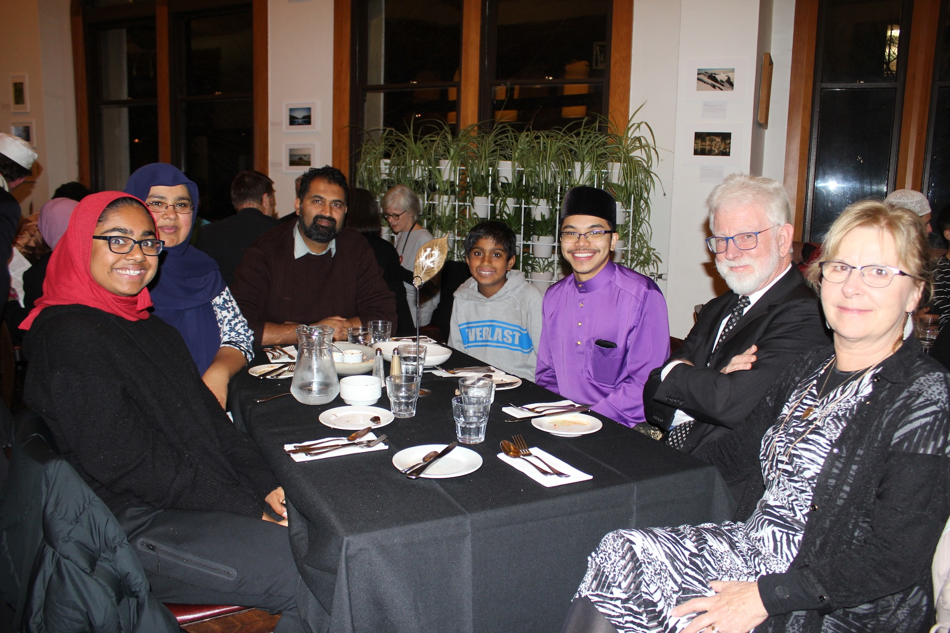 A cosy Iftar dinner in Dunedin's cold