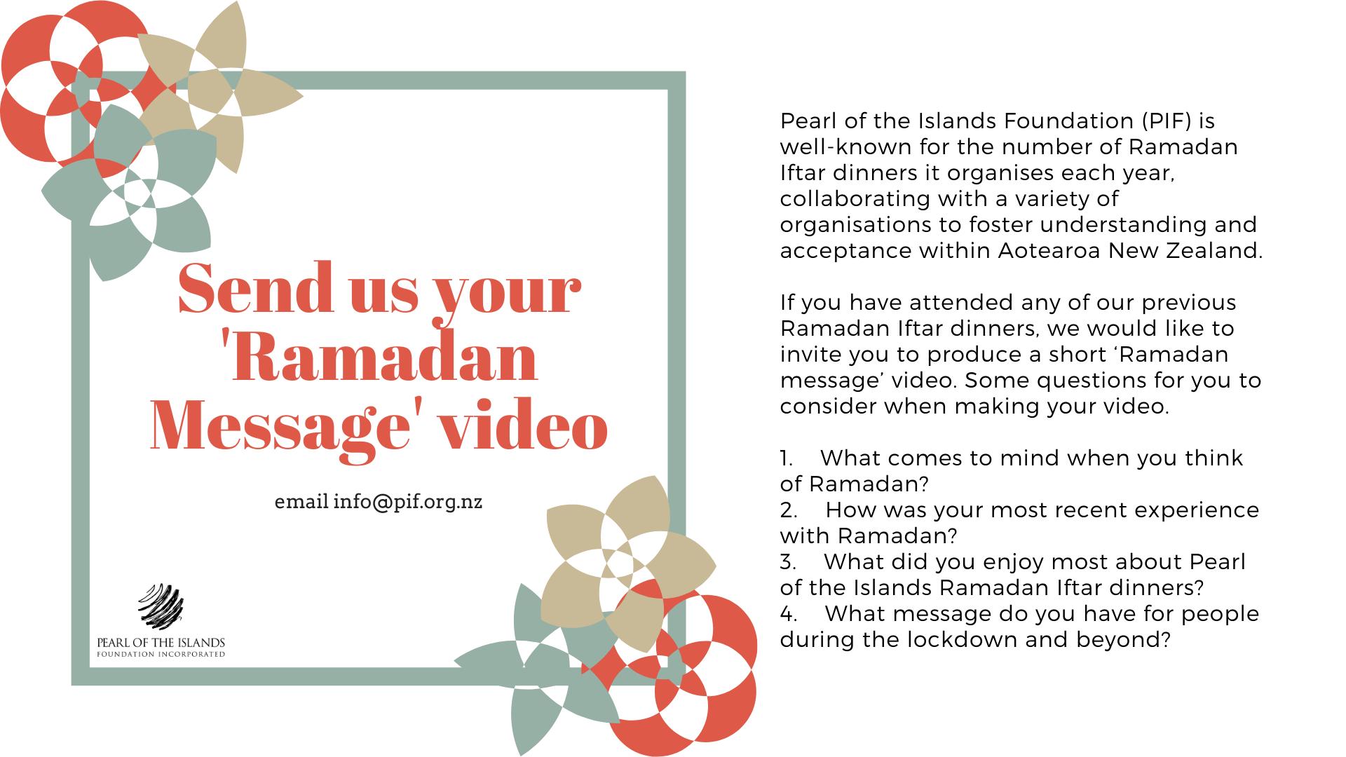 #PIFRamadanMessages