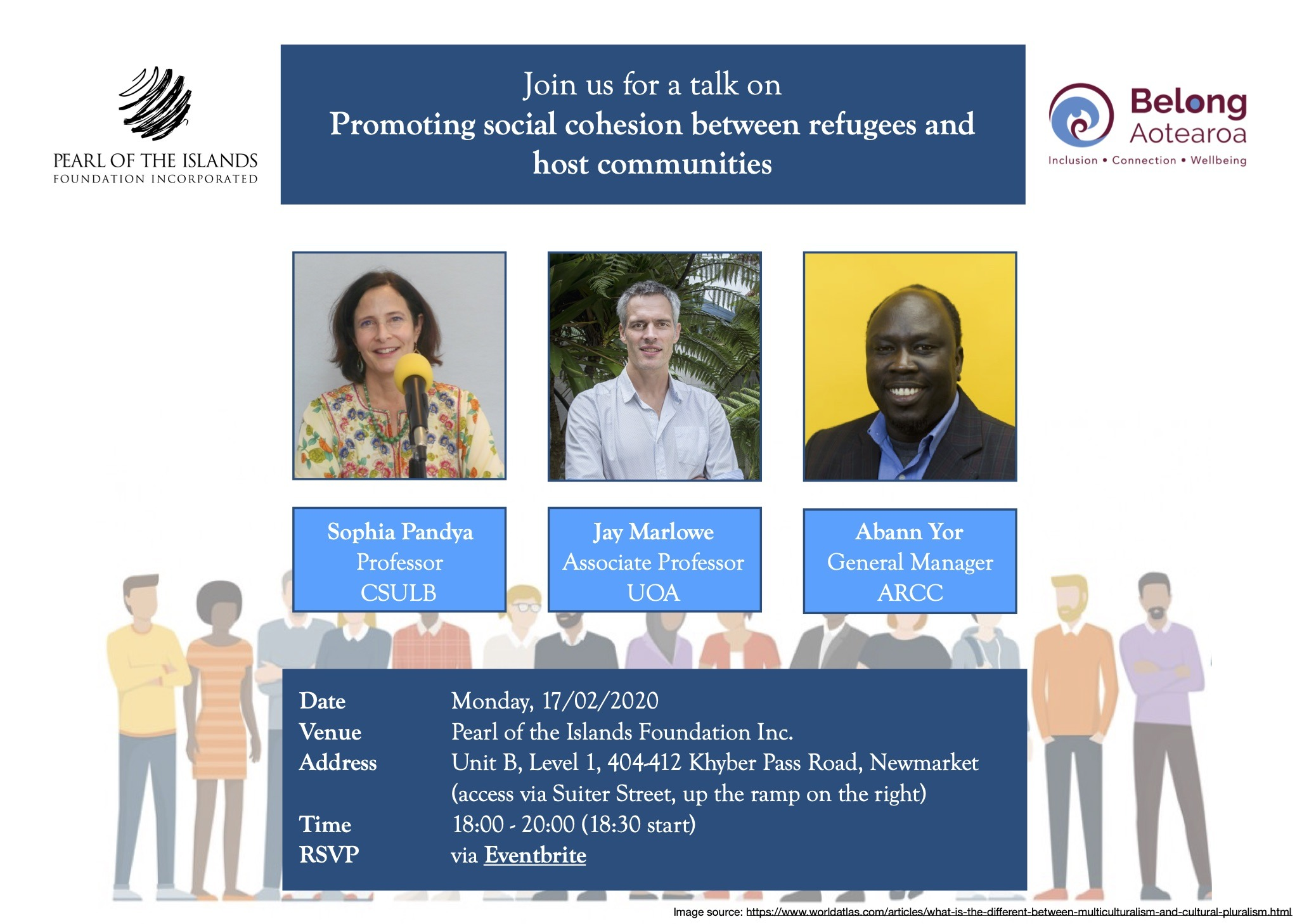 TALK: Join us for a talk on Promoting Social Cohesion between Refugees and Host Communities