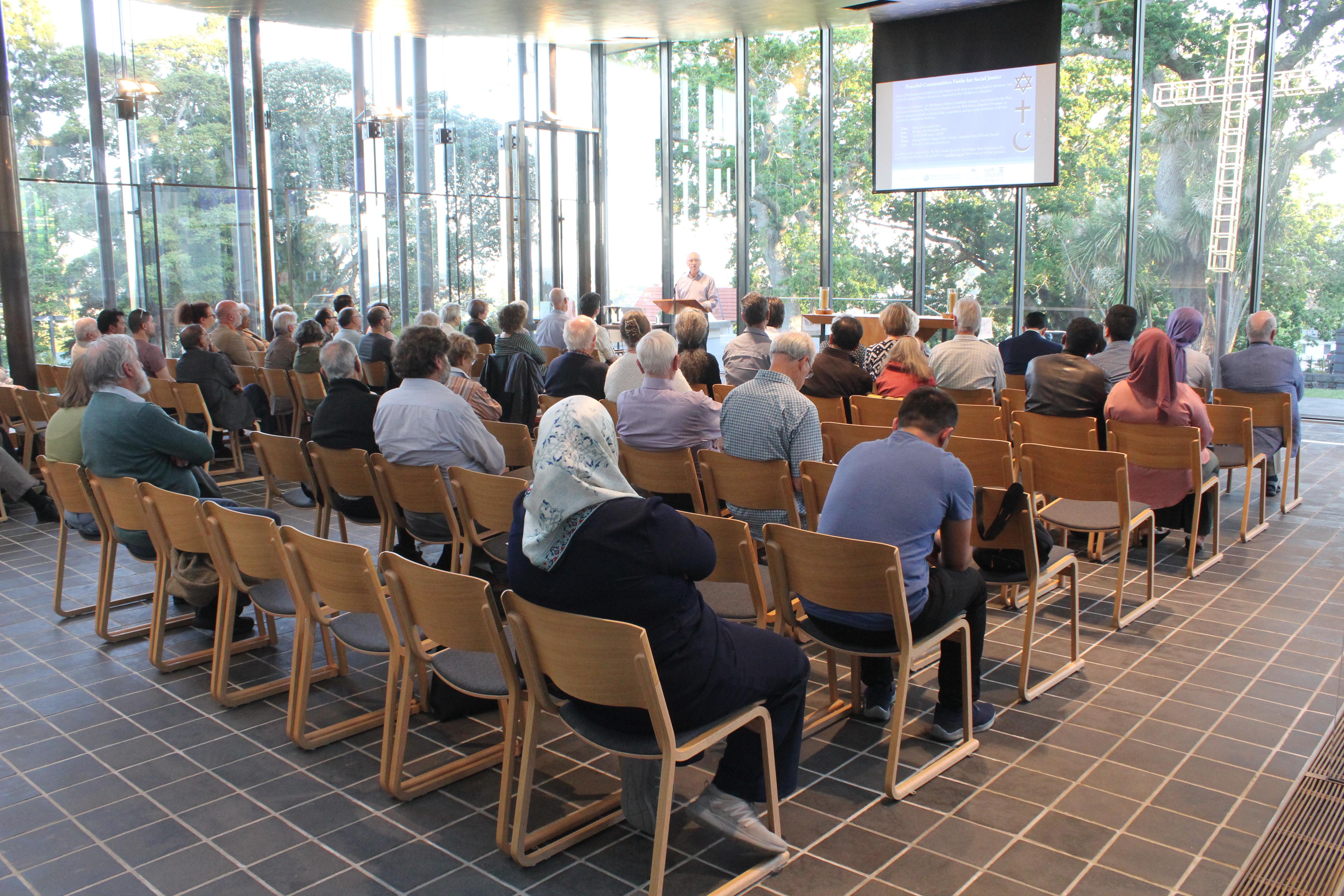 Abrahamic Interfaith Panel – Peaceful Communities: Faiths for Social Justice