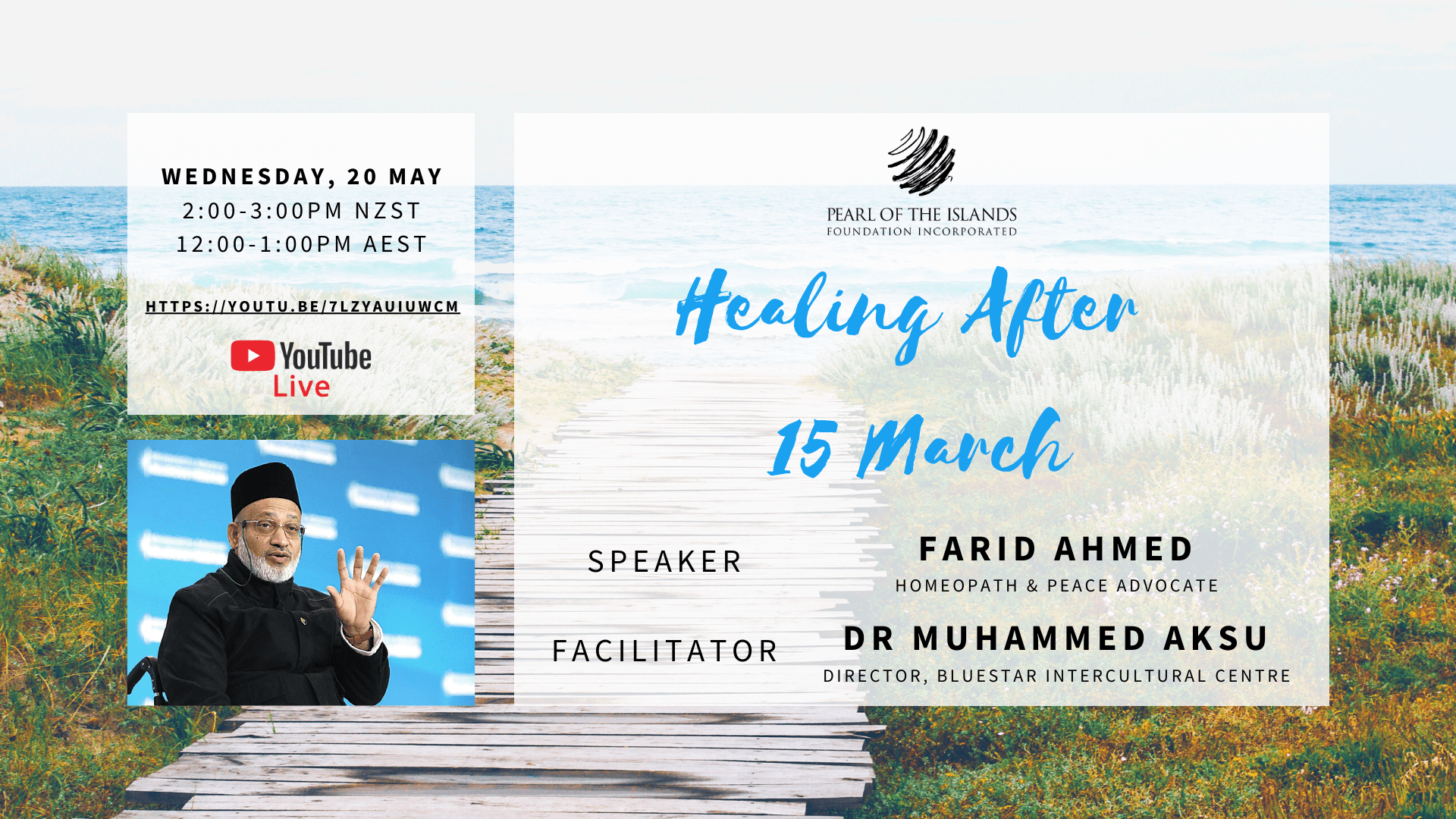 TALK: Healing After 15 March